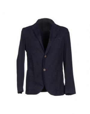 Пиджак ALV ANDARE LONTANO VIAGGIANDO. Цвет: темно-синий