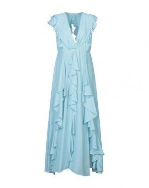 Длинное платье HANITA. Цвет: небесно-голубой