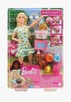 Кукла Barbie Barbie®  Игровой набор и щенки Барби с питомцами акс. для ще. Цвет: разноцветный