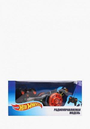 Игрушка радиоуправляемая 1Toy Hot Wheels, трюковая трёхколёсная машина-перевёртыш. Цвет: разноцветный