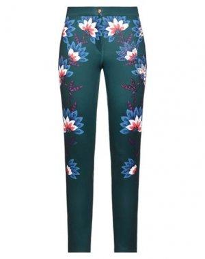 Повседневные брюки GAI MATTIOLO. Цвет: темно-зеленый
