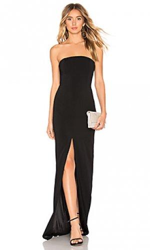 Вечернее платье martell Jay Godfrey. Цвет: черный