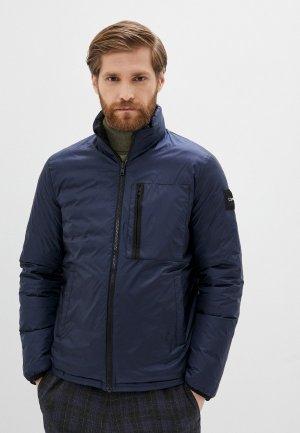 Куртка утепленная Calvin Klein. Цвет: черный