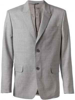 Пиджак с застежкой на две пуговицы Carven. Цвет: серый