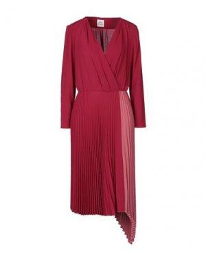 Платье до колена ATTIC AND BARN. Цвет: пурпурный