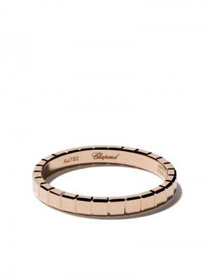 Кольцо Ice Cube Pure из розового золота Chopard. Цвет: fairmined розовый