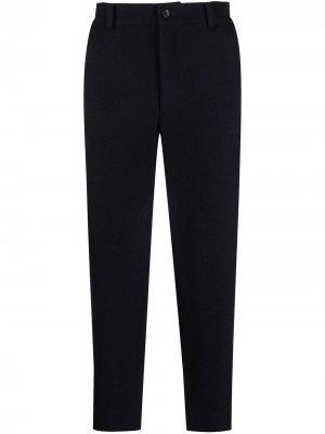 Прямые брюки строгого кроя Comme Des Garçons Homme Deux. Цвет: синий