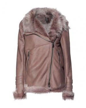 Куртка DACUTE. Цвет: светло-коричневый