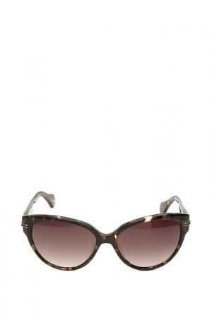 Очки солнцезащитные с линзами Vivienne Westwood. Цвет: 02 бронзовый, коричневый