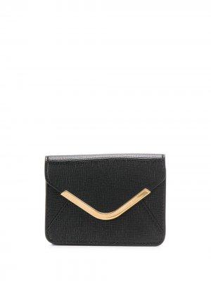 Маленький кошелек Postbox Anya Hindmarch. Цвет: черный