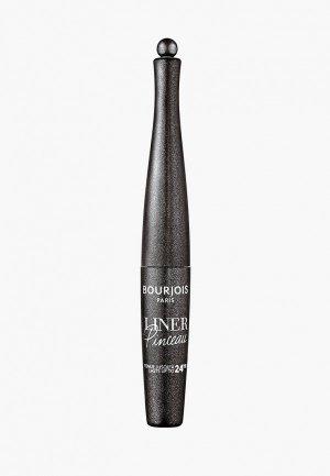 Подводка для глаз Bourjois Liner Pinceau, Тон 008 Noir Surrealiste, 2 мл. Цвет: черный
