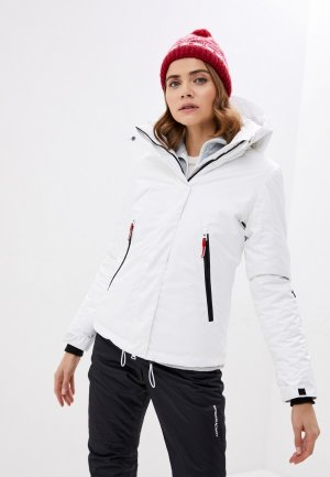 Куртка горнолыжная Heiden. Цвет: белый