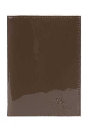 Обложка для паспорта Alliance. Цвет: светло-коричневый