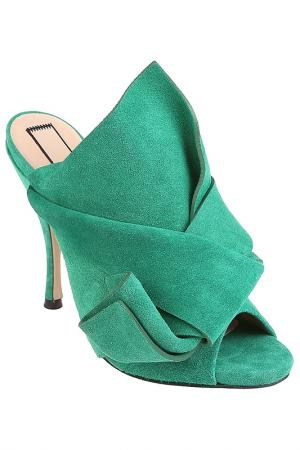 Мюли N°21. Цвет: зеленый