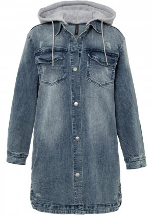 Куртка джинсовая bonprix. Цвет: синий