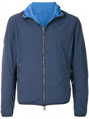 Ветровка с капюшоном Colmar. Цвет: синий