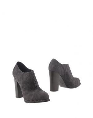 Ботинки ALBERTO FERMANI. Цвет: свинцово-серый