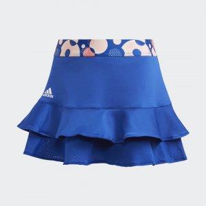 Юбка для тенниса Frill Performance adidas. Цвет: синий