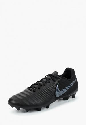 Бутсы Nike Tiempo Legend VII Academy FG. Цвет: черный
