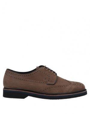 Обувь на шнурках FRATELLI ROSSETTI. Цвет: хаки