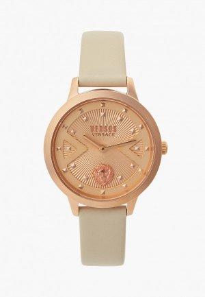 Часы Versus Versace VSPZK0321. Цвет: бежевый