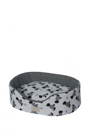 Лежак для животных ANTEPRIMA. Цвет: белый, черный