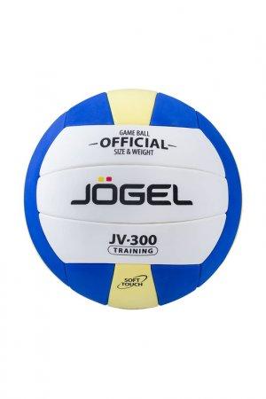 Мяч волейбольный JV-300 Jogel. Цвет: синий, желтый, белый