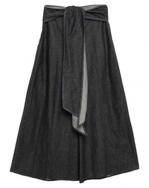 Джинсовые брюки CAROLINA HERRERA. Цвет: синий