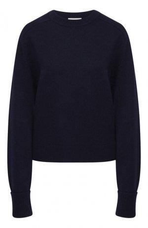 Кашемировый пуловер Chloé. Цвет: темно-синий