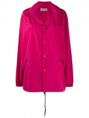 Ветровка с капюшоном Balenciaga. Цвет: розовый