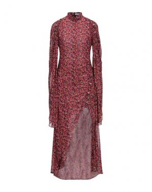 Длинное платье CAMILLA AND MARC. Цвет: пурпурный