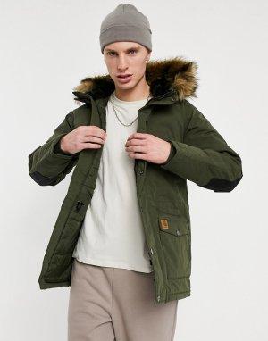 Куртка-парка Trapper-Зеленый цвет Carhartt WIP