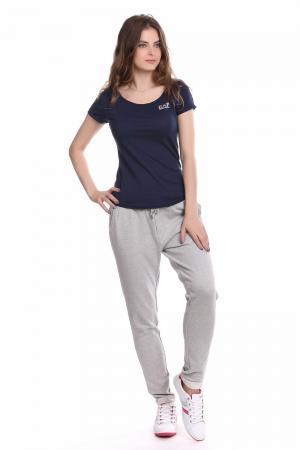 Спортивные брюки s.Oliver. Цвет: серый