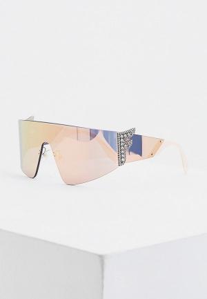 Очки солнцезащитные Fendi FF 0382/S 35J. Цвет: розовый
