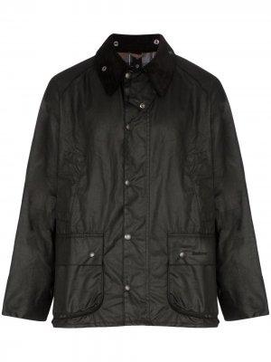 Вощеная куртка Bedale Barbour. Цвет: черный