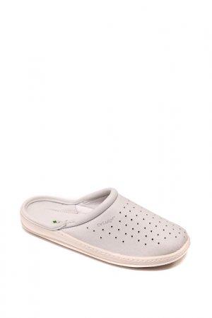 Домашняя обувь Dr.Luigi. Цвет: белый
