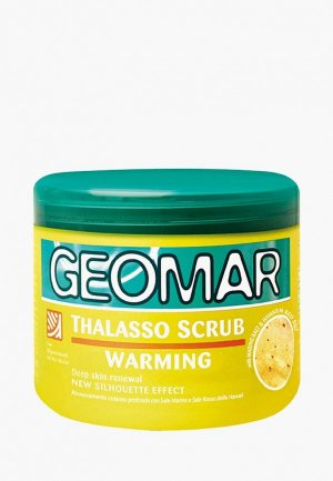 Скраб для тела Geomar Талассо с ароматом банана, 600 гр. Цвет: желтый