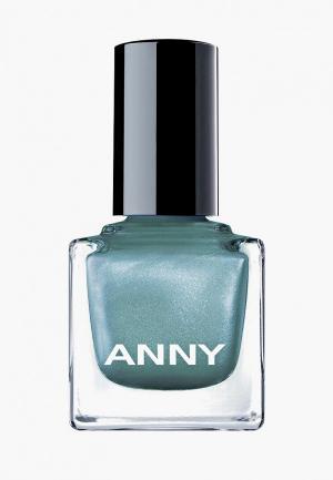 Лак для ногтей Anny тон 396 глубины океана. Цвет: зеленый