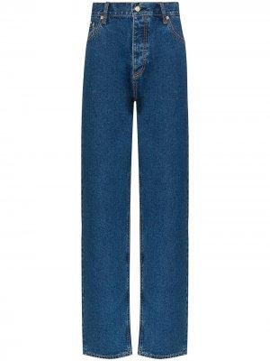 Широкие джинсы Benz Stone Eytys. Цвет: синий