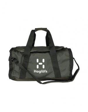 Дорожная сумка HAGLÖFS. Цвет: зеленый-милитари