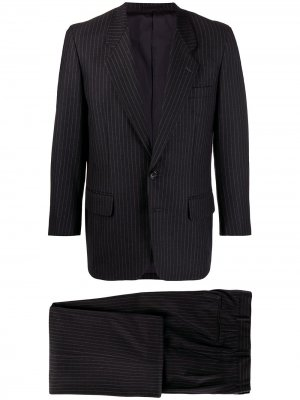 Полосатый костюм-двойка 1980-х годов Comme Des Garçons Pre-Owned. Цвет: серый