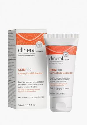 Крем для лица Ahava Clineral Skinpro Успокаивающий 50 мл. Цвет: белый