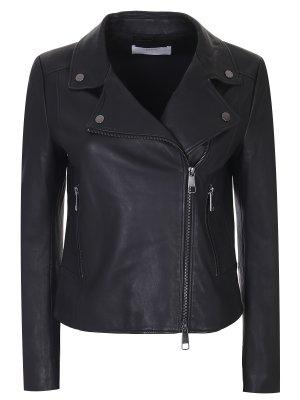 Куртка-косуха кожаная BOSS