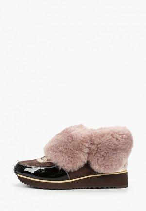 Кроссовки Just Couture. Цвет: коричневый
