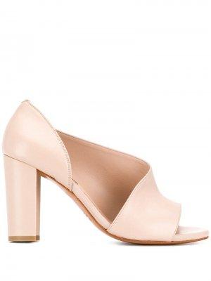 Босоножки с открытым носком Albano. Цвет: розовый