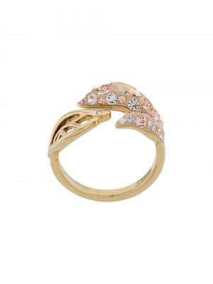 Декорированное кольцо Atelier Swarovski. Цвет: золотистый