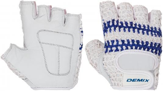 Перчатки для фитнеса , размер XXS Demix. Цвет: белый