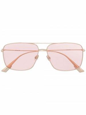 Солнцезащитные очки Stellaire O3 DDB Dior Eyewear. Цвет: розовый