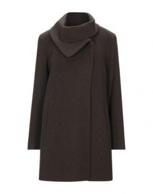 Пальто CINZIA ROCCA. Цвет: темно-коричневый