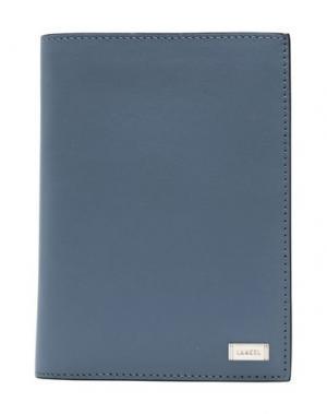 Бумажник LANCEL. Цвет: грифельно-синий